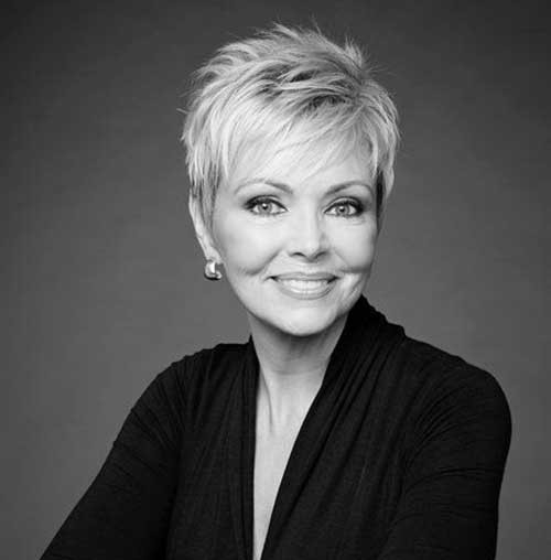 Modern-Too-Short-Hair Best Short Haircuts for Older Women