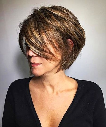 Perfect-Cut New Short Layered Hairstyles 2018