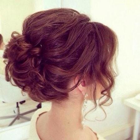 Perfect-Updo-for-Wedding-Event Updo Hairstyles for Short Hair