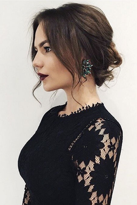 Prom-Hairtyle Updo Hairstyles for Short Hair