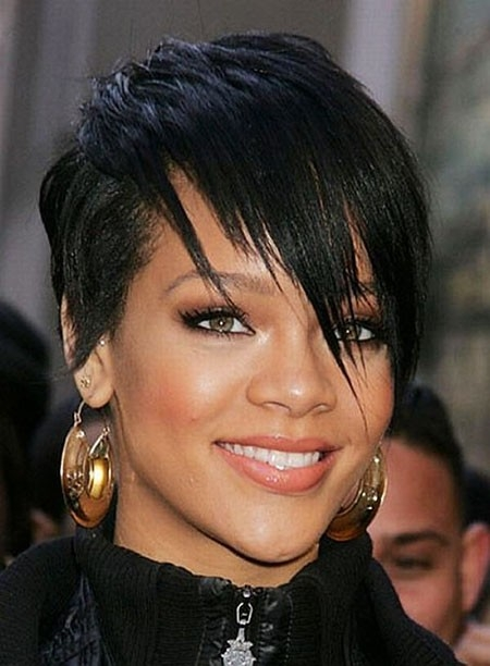 Rihanna-Short-Hair Best Rihanna Short Hairstyles