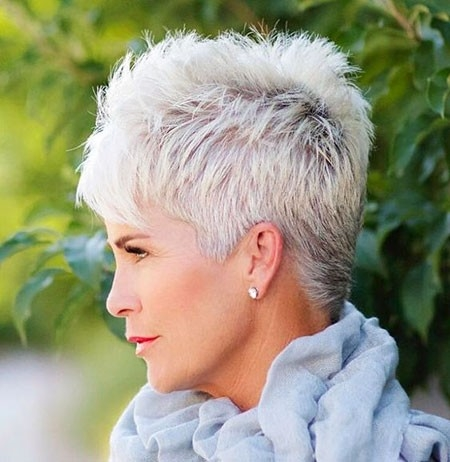 Sharp-Pixie-Haircut Great Short Hairstyles for Women 2018