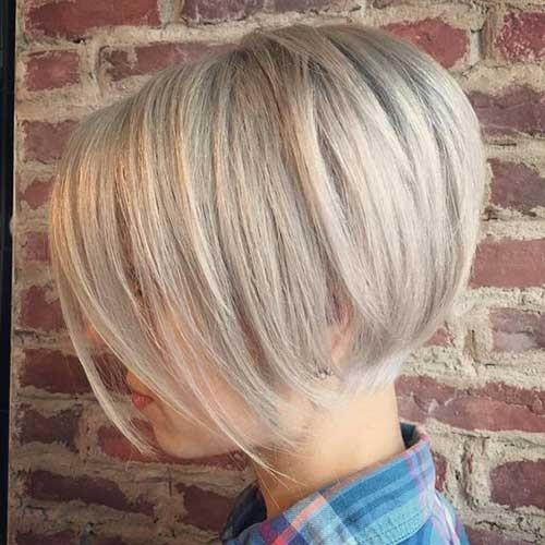 Short-Blonde-Haircut Blonde Short Hair Ideas for Ladies