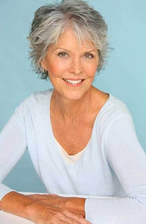 Short-Grey-Hair Gorgeous Short Hairstyles for Women over 50