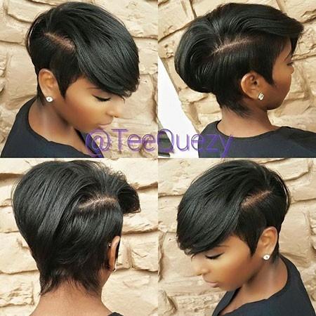 Short-Hair-Styles-for-Black-Women Best Hairstyles for Black Women 2018