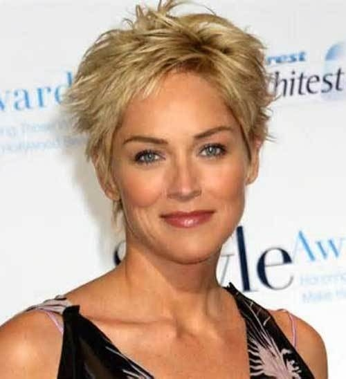 Short-Hairstyles-for-Thick-Hair Gorgeous Short Hairstyles for Women over 50