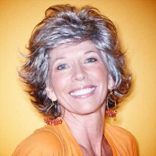 Short-Layered-Hair-for-Women-Over-70 Best Short Haircuts For Women Over 70