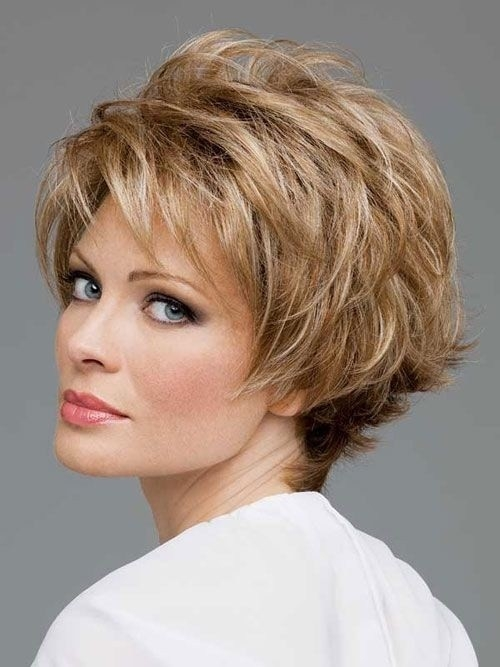 Short-Layered-Hairstyle Gorgeous Short Hairstyles for Women over 50