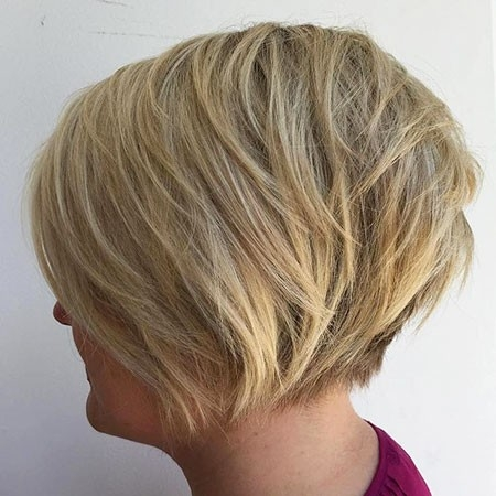 Short-bob-2 New Short Layered Hairstyles 2018