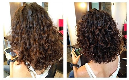 Shoulder-Size-Hair Haircuts for Short Curly Hair