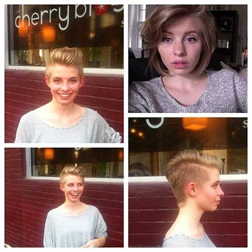 Sweet-Style-Pixie Cute Girls Choice: Short Haircuts