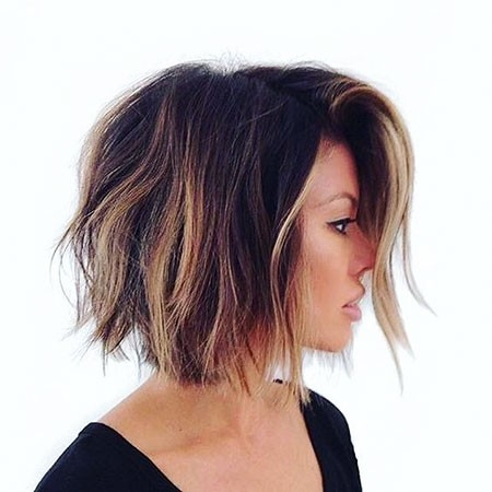 Trendy-Ombre Ombre Hairstyles for Short Hair