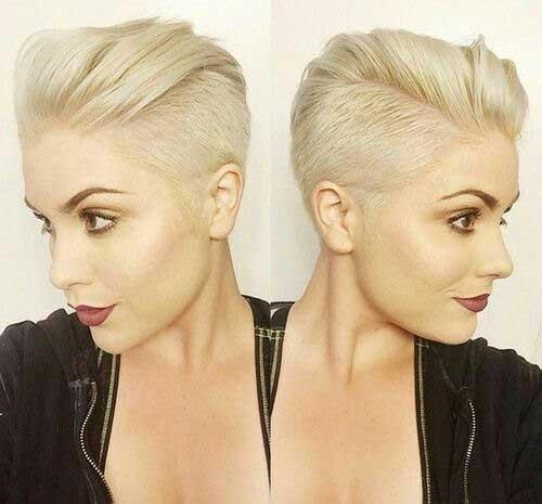 Undercut-Fine-Hair Long Pixie Haircuts You Should See