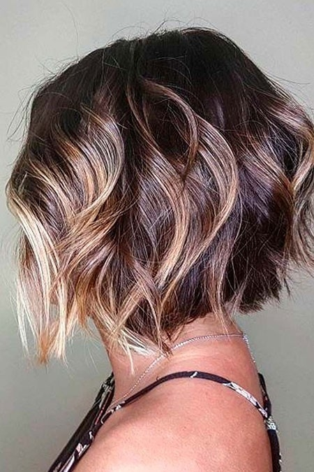 Wavy-Hair-1 Short Trendy Haircuts