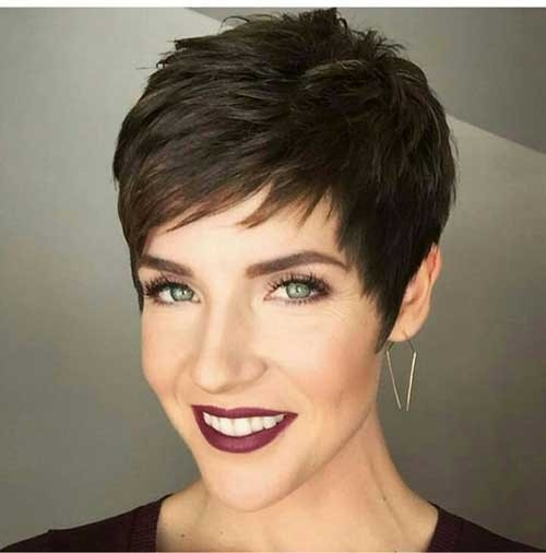 Women-Short-Hair-2018 Superb Short Pixie Haircuts for Women