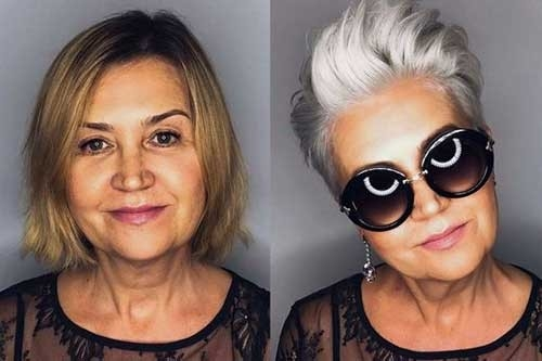 Women-Short-Hairstyles-2018 Short Haircuts for Older Women 2018-2019