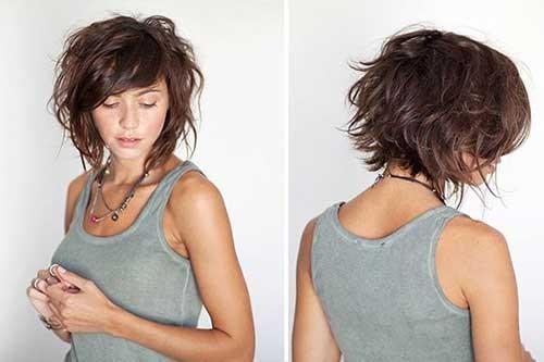 18.Shaggy-Short-Haircut Shaggy Short Haircuts
