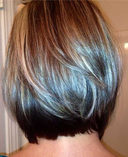 Best-Fine-Straight-Hair-with-Highlights Best Short Haircuts for Straight Fine Hair