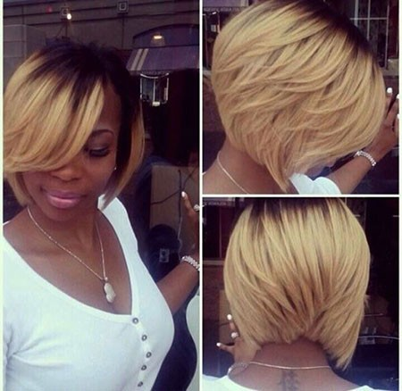 Bob-Hairtyles-for-Black-Women Cute Short Hairstyles for Black Women