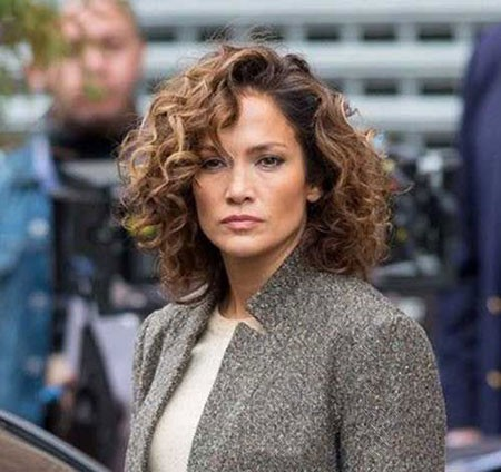 Celebrity-Hair Hairstyles for Short Curly Hair
