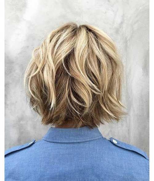 Choppy-Bob-Short-Haircut Best Short Haircuts You will Want to Try