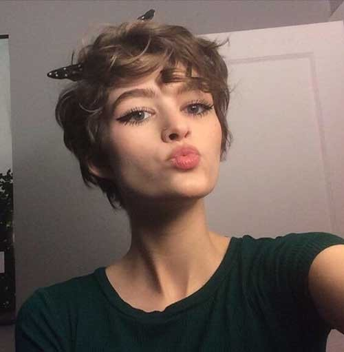 Curly-Pixie-Haircuts Best Pixie Haircuts for 2018