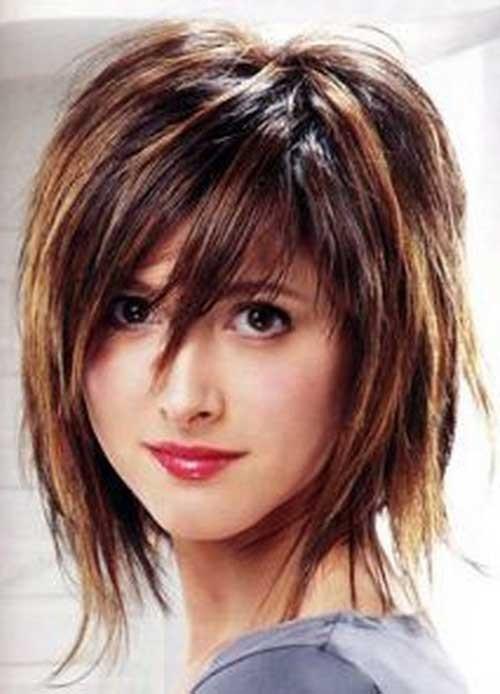 Cute-Balayage-Colored-Shaggy-Hairstyle Short Shaggy Haircuts