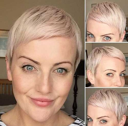 Cute-Blonde-Pixie Best Pixie Haircuts for 2018