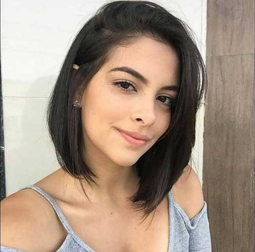 Cute-Girl-Bob-Haircut-2018 Latest Bob Haircuts for 2018