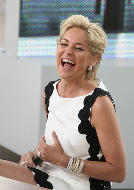 Cute-Style-1 New Sharon Stone Short Hairstyles