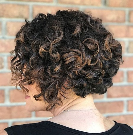 Festive-Look Short Natural Curly Hairstyles