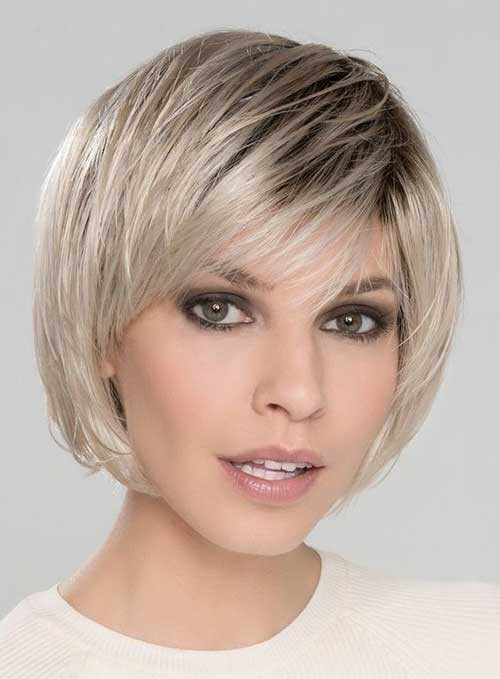 Fine-Bob-with-Bangs-Haircut-2018 Latest Bob Haircuts for 2018