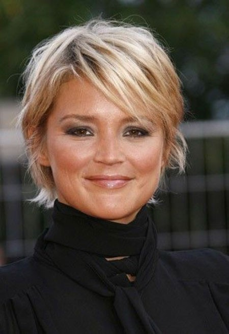 Fine-Hairtyle Short Hairstyles for Chubby Faces