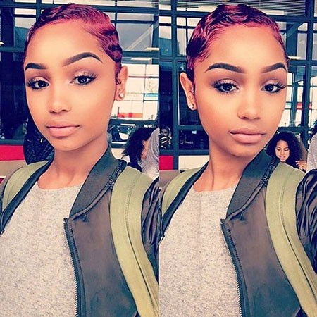 Finger-Waves Best Short Hairstyles for Black Women