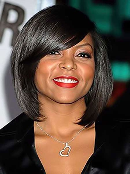 Hairtyle-for-Round-Face-Black-Women Short Haircuts for Black Women with Round Faces