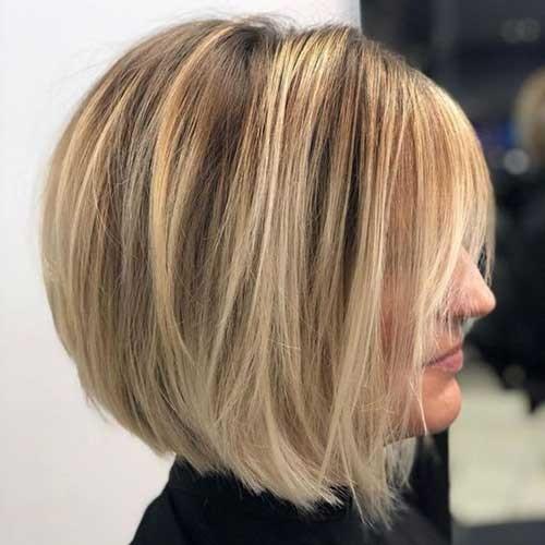 Layered-Bob-Hairstyle Latest Bob Haircuts for 2018