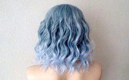 Light-Blue-Hair Best Short Blue Hair