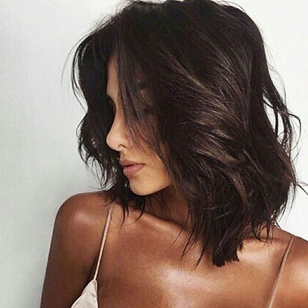 Messy-Hair-2 Popular Short Brunette Hairstyles