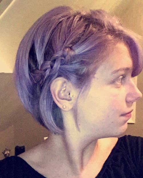 Pixie-Bob-Style-with-Braid Latest Bob Haircuts and Styles for You