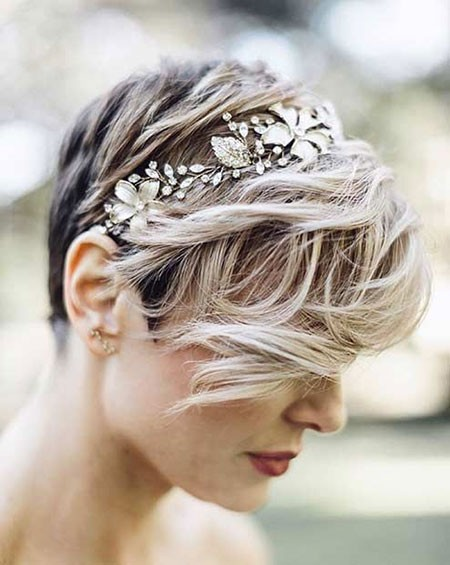 Prom-Hairtyles-for-Short-Hair Bridal Hairstyles for Short Hair
