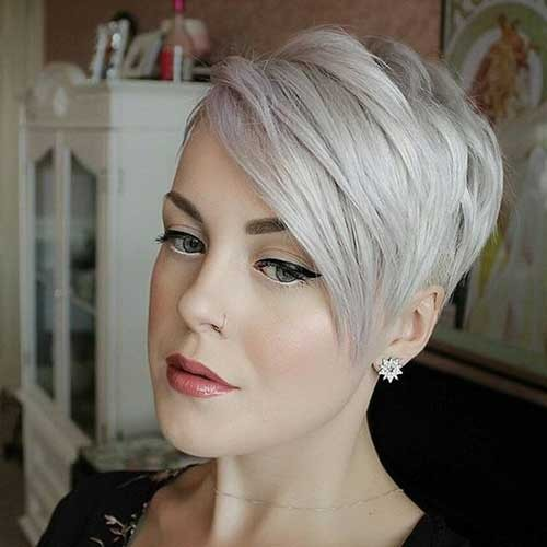 Really-Cool-Asymmetrical-Pixie-Cut Best Short Haircuts You will Want to Try