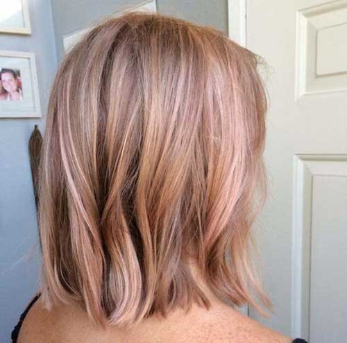 Rose-Gold-Short-Hair Best Short Haircuts You will Want to Try