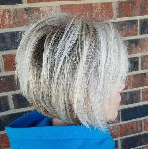 Short-Graduated-Cut-Bob Latest Bob Haircuts for 2018