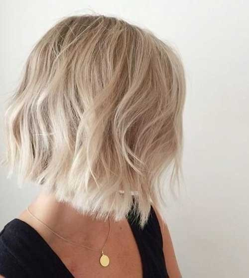 Short-Hair-Blonde-Style Best Short Haircuts You will Want to Try