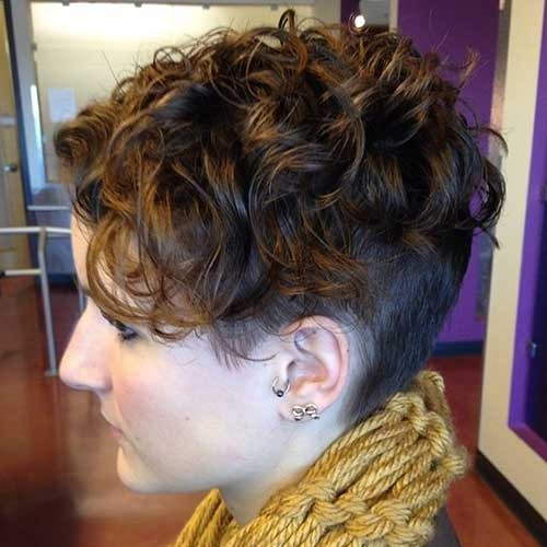 Short-Hair-Undercut-Perm Best Pixie Haircuts for 2018