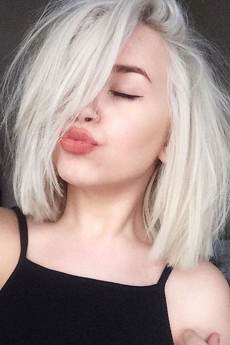 Short-Messy-Hairstyle Short Cute Hairstyles