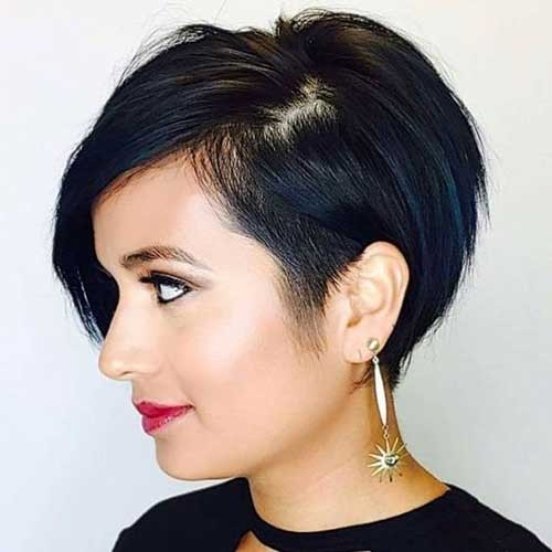 Side-View-Short-Haircut Best Short Haircuts You will Want to Try