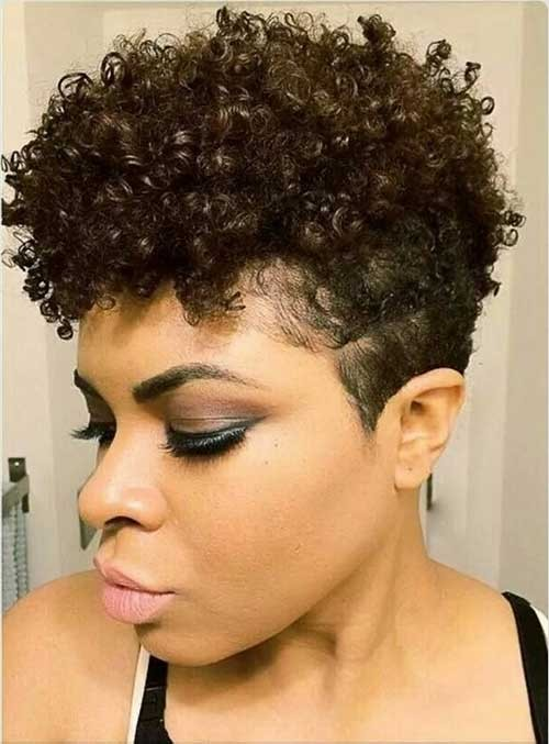 Best-Short-Natural-Hairstyle-and-Tapered-Too Good Natural Black Short Hairstyles