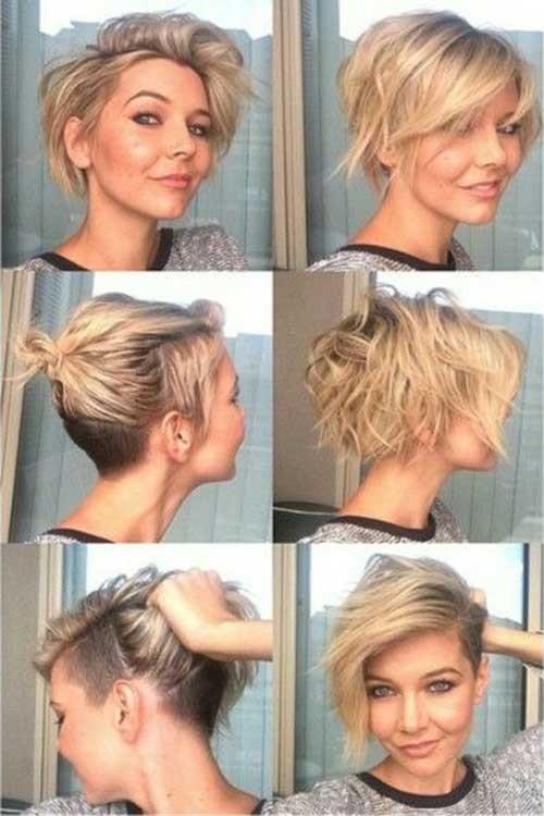 Best-Wavy-Pixie-Bob-Haircut Best Short Pixie Cuts