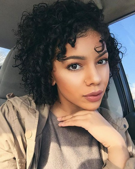 Black-Curls Short Curly Haircuts for Black Women